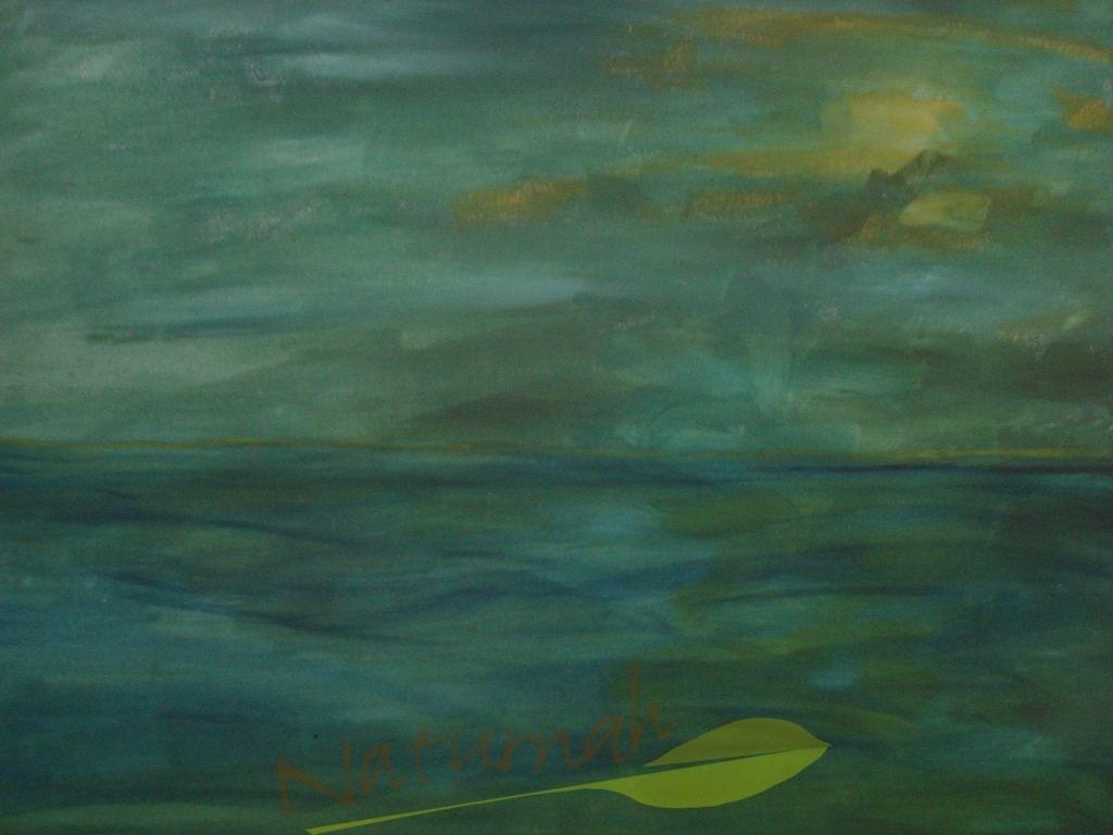 Meer der Hoffnung | Eintauchen in das grüne Meer der Hoffnung.