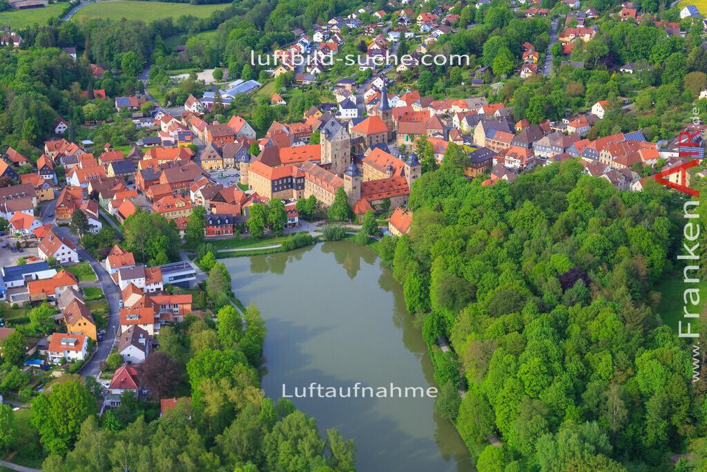 thurnau-2016-3361   Luftbild von  Thurnau - Luftaufnahme wurde 2016 von https://frankenair.de mittels Flugzeug (keine Drohne) erstellt - die Geschenkidee