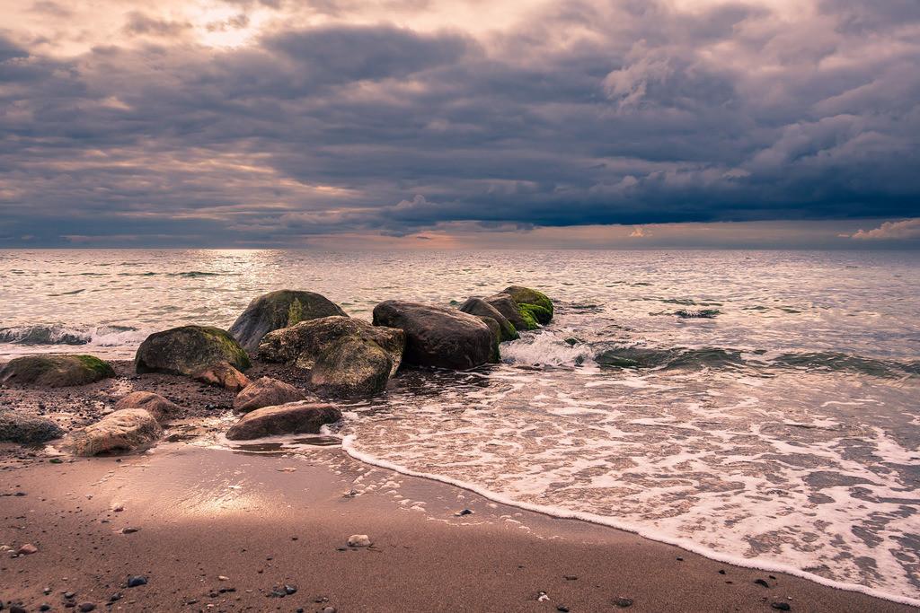 Steine an der Ostseeküste bei Meschendorf | Steine an der Ostseeküste bei Meschendorf.