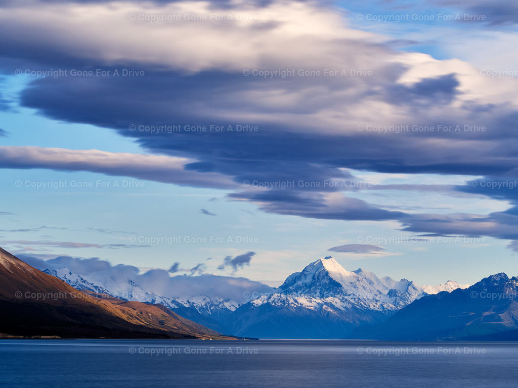 Neuseeland | Der Mount Cook am Lake Pukaki