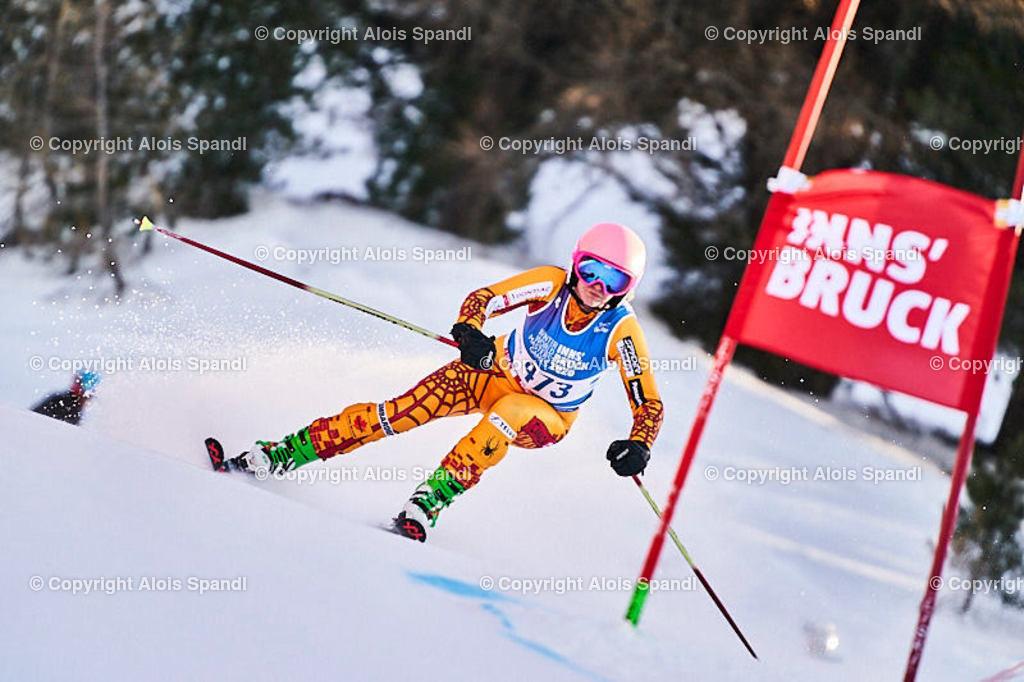 ALS6047_WWMG_GS-II_C | (C) FotoLois.com, Alois Spandl, WinterWorldMastersGames 2020 Innsbruck, Giant Slalom-II Gruppe C Damen, Patscherkofel Olympiaabfahrt, Mi 15. Jänner 2020.