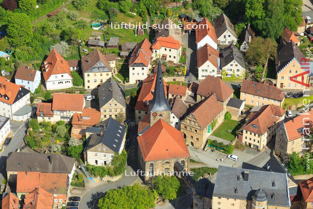 kirche-thurnau-2015-3403 | Luftbild von Kirche Thurnau - Luftaufnahme wurde 2015 von https://frankenair.de mittels Flugzeug (keine Drohne) erstellt - die Geschenkidee