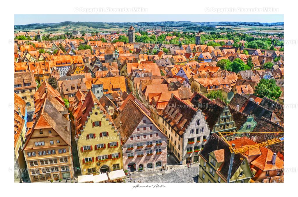 Rothenburg ob der Tauber No.83 (3-2)