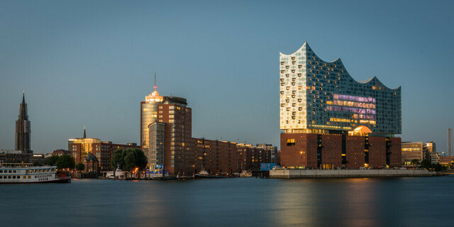 Hamburg Nightscape