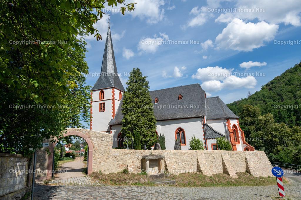 DSC_0424 | bbe,Bensheim Auerbach, Bergkirche, sanierte Stützmauer, ,, Bild: Thomas Neu