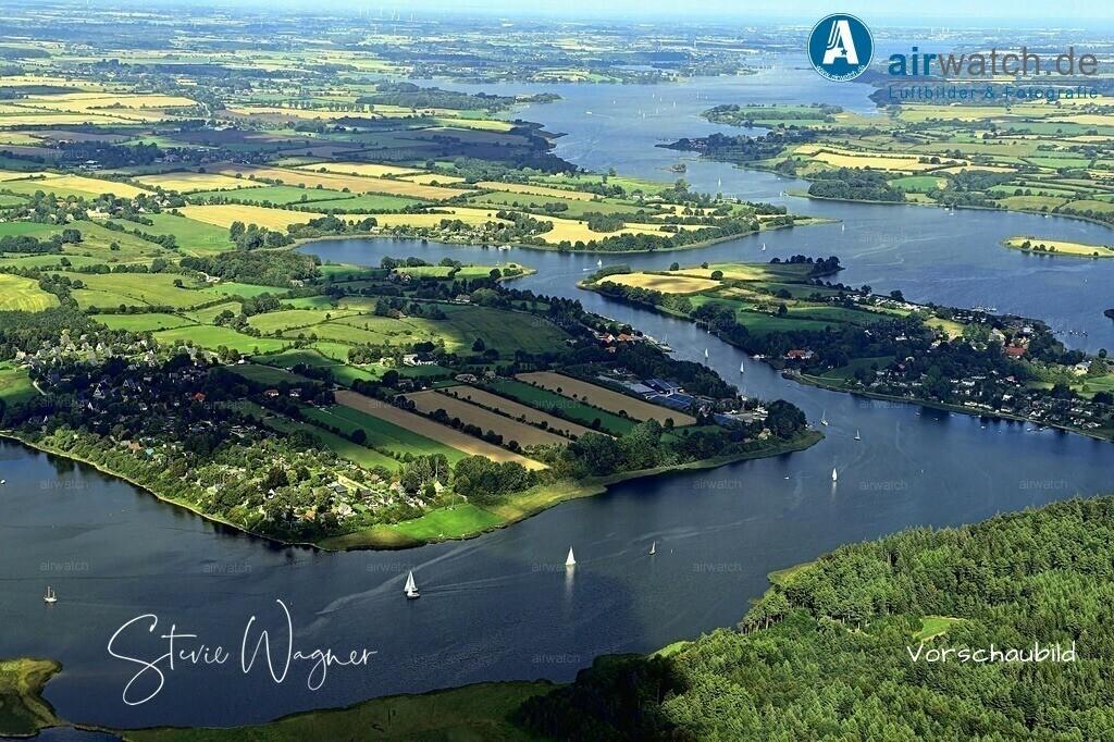Luftbild Burg, Missunde, Missunder Fähre, Badestrand Brodersby | Luftbild Burg, Missunde, Missunder Fähre, Badestrand Brodersby • max. 6240 x 4160 pix
