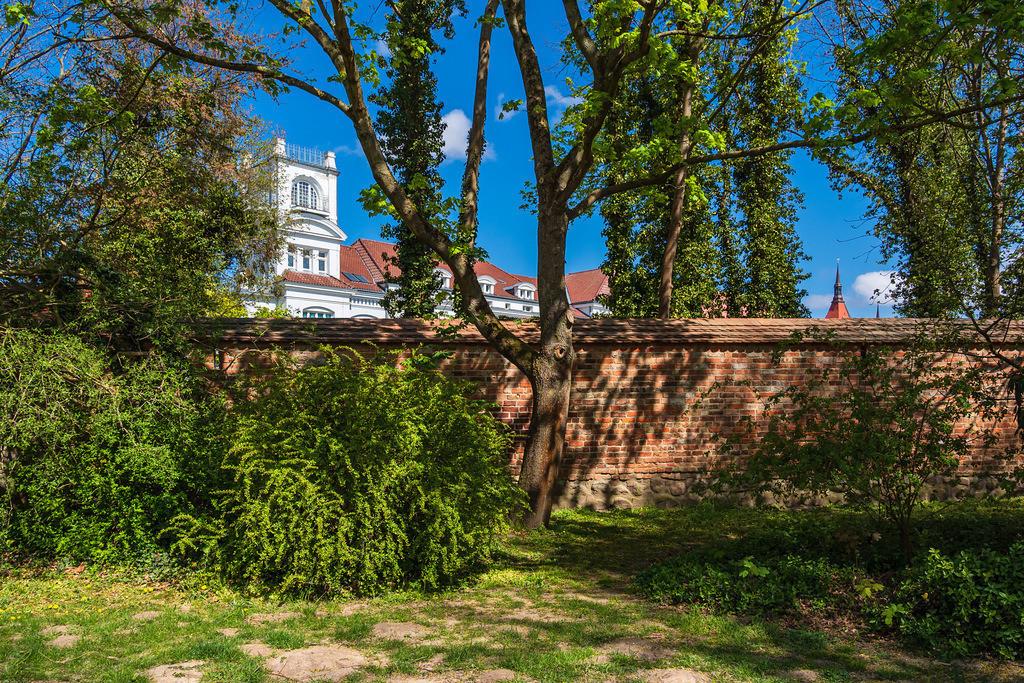 Historische Stadtmauer in der Hansestadt Rostock | Historische Stadtmauer in der Hansestadt Rostock.
