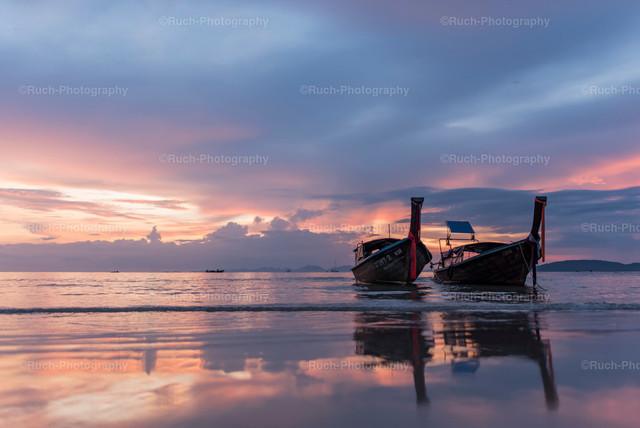 Longtail-Sunset