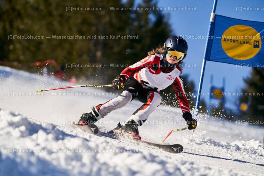 0199_KinderLM-RTL-I_Trattenbach_Gruber Sarah | (C) FotoLois.com, Alois Spandl, NÖ Landesmeisterschaft KINDER in Trattenbach am Feistritzsattel Skilift Dissauer, Sa 15. Februar 2020.