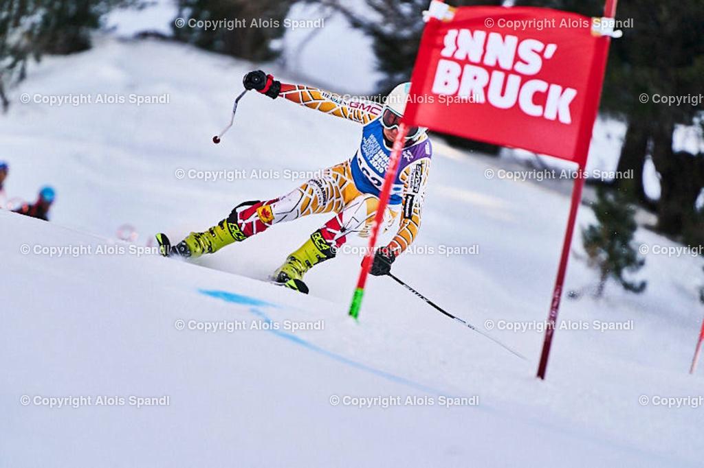 ALS5983_WWMG_GS-II_C | (C) FotoLois.com, Alois Spandl, WinterWorldMastersGames 2020 Innsbruck, Giant Slalom-II Gruppe C Damen, Patscherkofel Olympiaabfahrt, Mi 15. Jänner 2020.