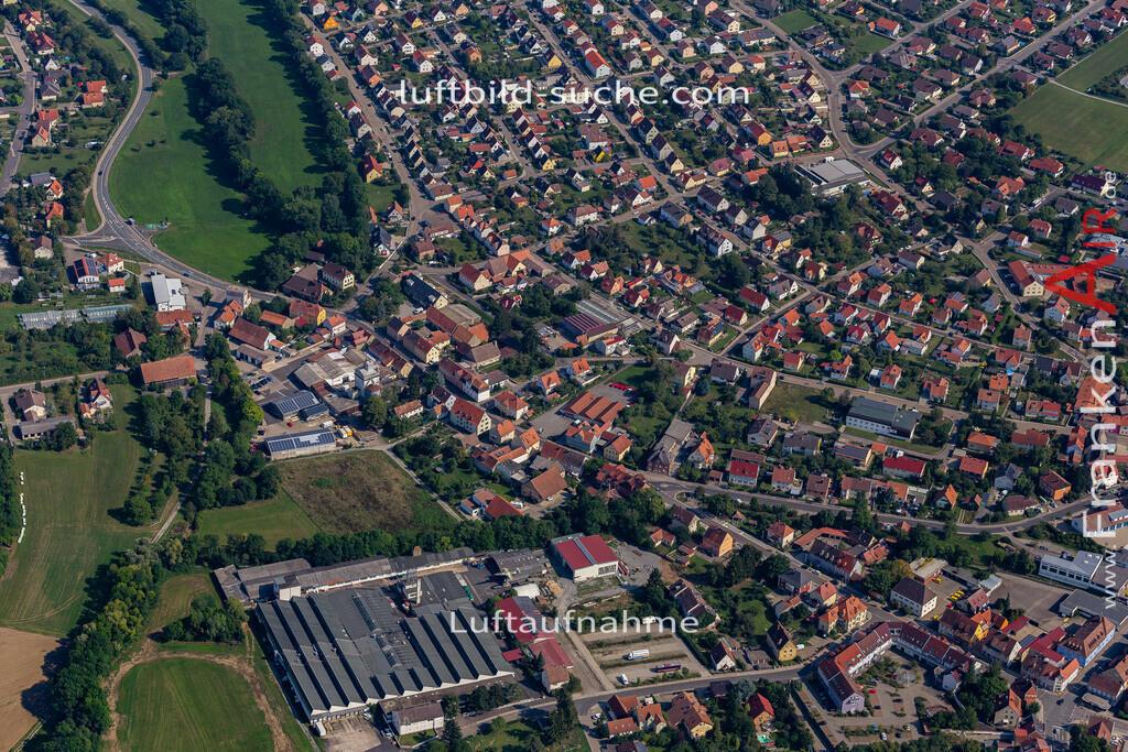 uffenheim-19-750 | aktuelles Luftbild von  Uffenheim - Luftaufnahme wurde 2019 von https://frankenair.de mittels Flugzeug (keine Drohne) erstellt.