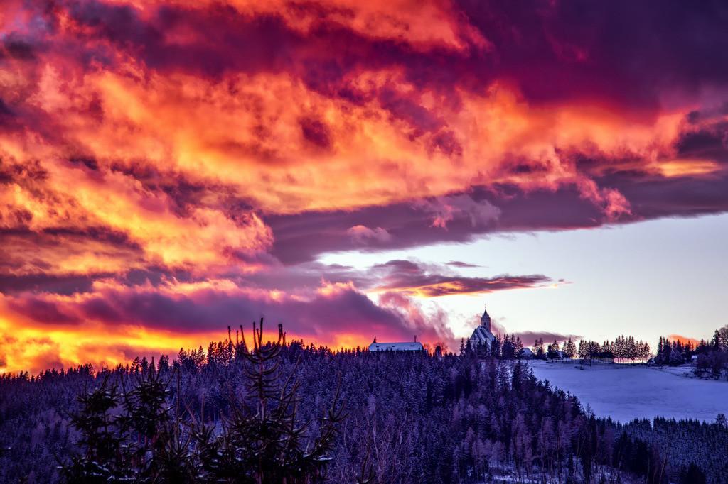 Flammender Himmel | Waitschach