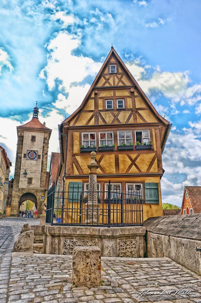 Rothenburg ob der Tauber No.55 | Rothenburg ob der Tauber - Hochwertige Bilder von Alexander Möller. Verschiedene Formate und Fotoprodukte im AlexanderMöller.de Bildershop