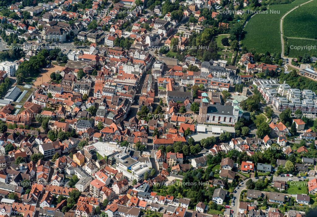 Luftbild_Bensheim_ | Bensheim,Luftbild, Innenstadt,Luftbild,, Bild: Thomas Neu