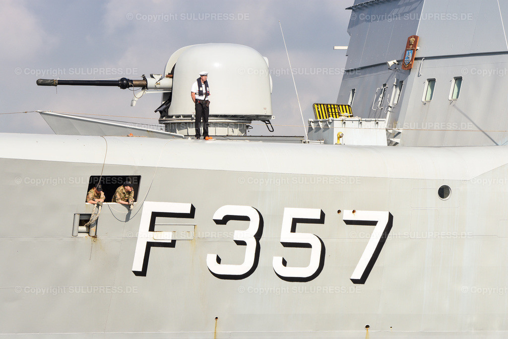 Die Dänische Fregatte F 357