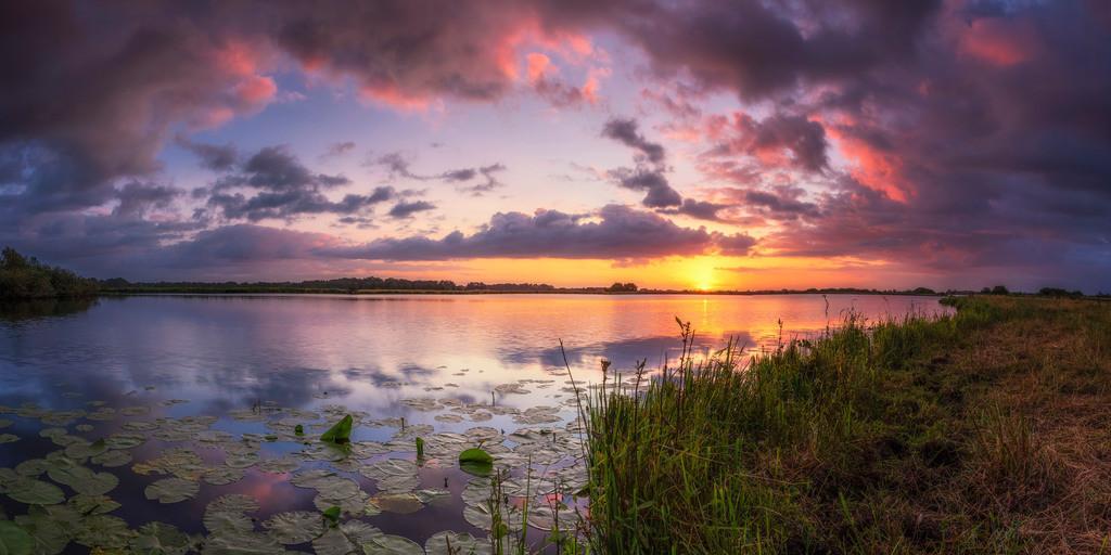 Sonnenaufgang Breites Wasser | Sonnenaufgang am Breiten Wasser
