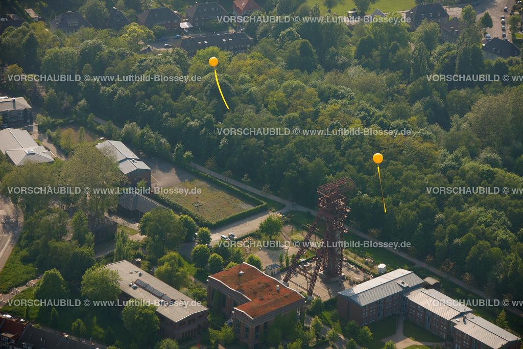 ES10056334 | Zollverein 3/7/10, Schachtzeichen ruhr2010,  Gelsenkirchen, Ruhrgebiet, Nordrhein-Westfalen, Deutschland, Europa, Foto: hans@blossey.eu, 22.05.2010