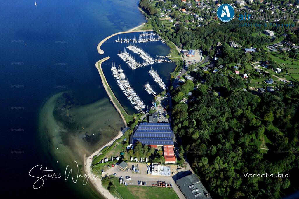 Luftbild Flensburger Foerde, Flensborg Yachtclub, Segler-Vereinigung Flensburg | Flensburger Foerde, Flensborg Yachtclub, Segler-Vereinigung Flensburg • max. 6240 x 4160 pix