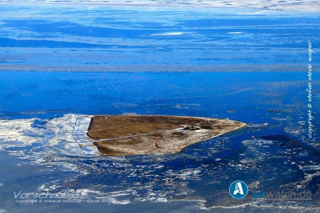 Winter Luftbilder, Nordsee, Nordfriesland, Suedfall | Winter Luftbilder, Nordsee, Nordfriesland, Suedfall
