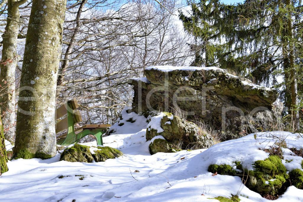 Tellerlay bei Daun Üdersdorf | Der Aussichtspunkt Tellerlay, Daun Üdersdorf in der Vulkaneifel