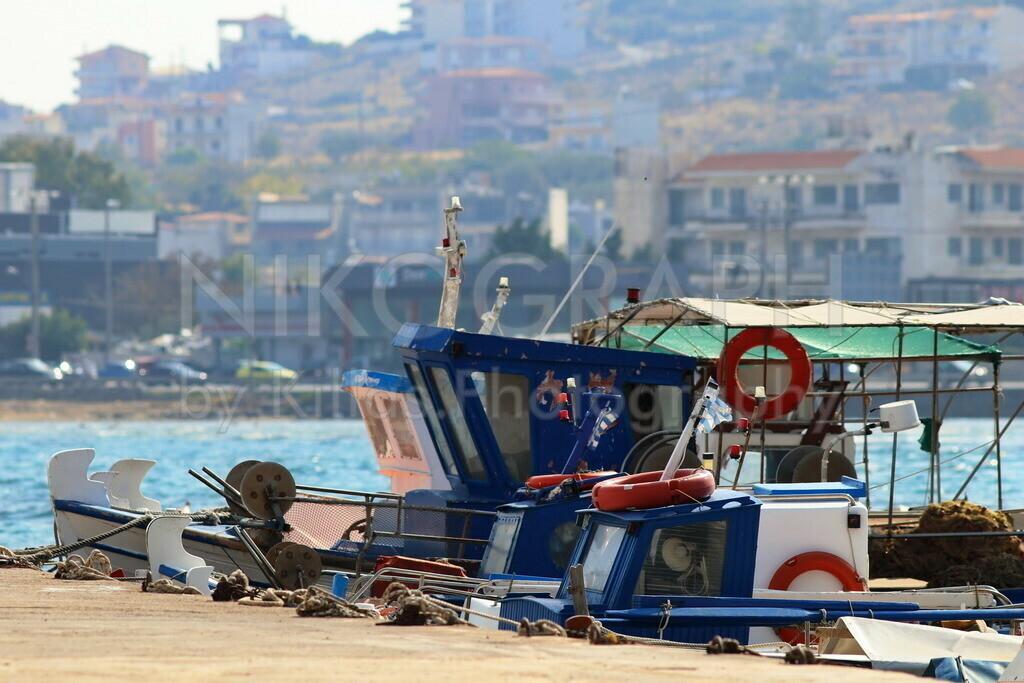 Fischerboote | Die Fischerboote von Chalkida.