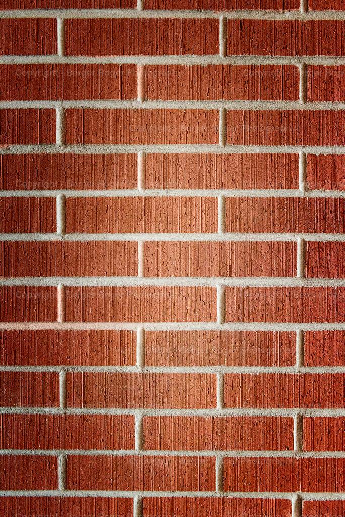 rote Steinziegelmauer Textur mit Vignette   Textur / Struktur für Fotografen und Grafikdesigner, zum weiterverarbeiten