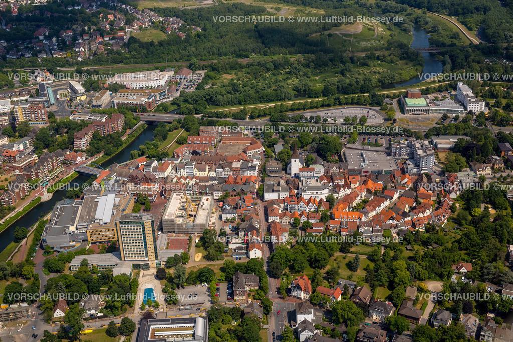Luenen15064032 | Blick auf den Stadtkern von Lünen mit dem Umbau des Hertie-Hauses, Lünen, Ruhrgebiet, Nordrhein-Westfalen, Deutschland