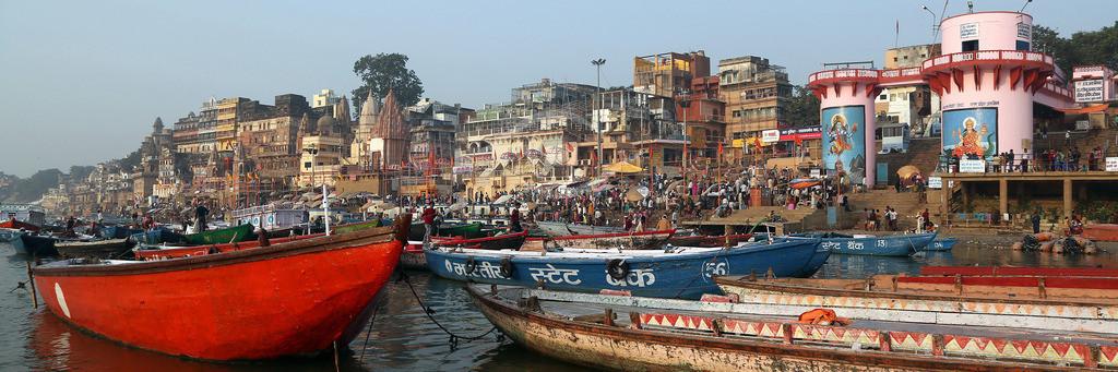 Indien_ Varanasi - Ganges