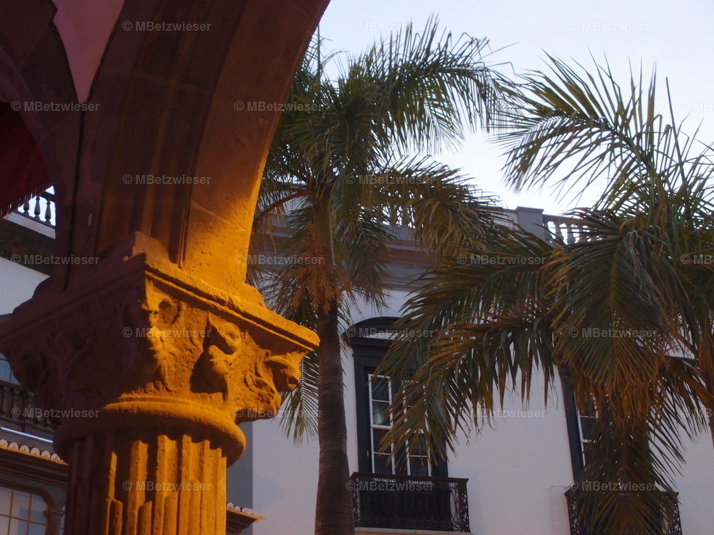 P4185178   Abendstimmung in Santa Cruz de La Palma