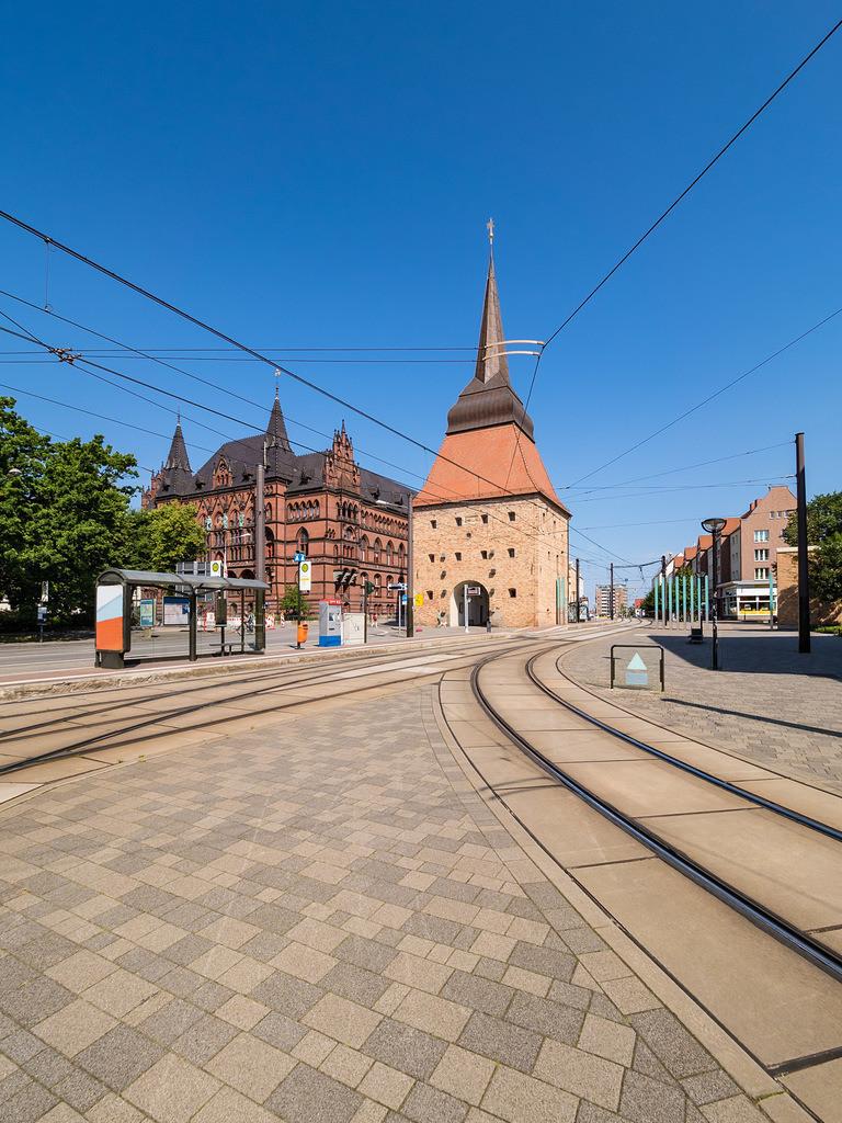 Das Steintor in der Hansestadt Rostock | Das Steintor in der Hansestadt Rostock.