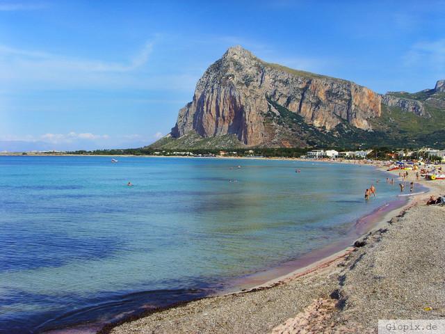 San Vito lo Capo | Die Bucht von San Vito lo Capo an der Westküste Siziliens in der Provinz von Trapani