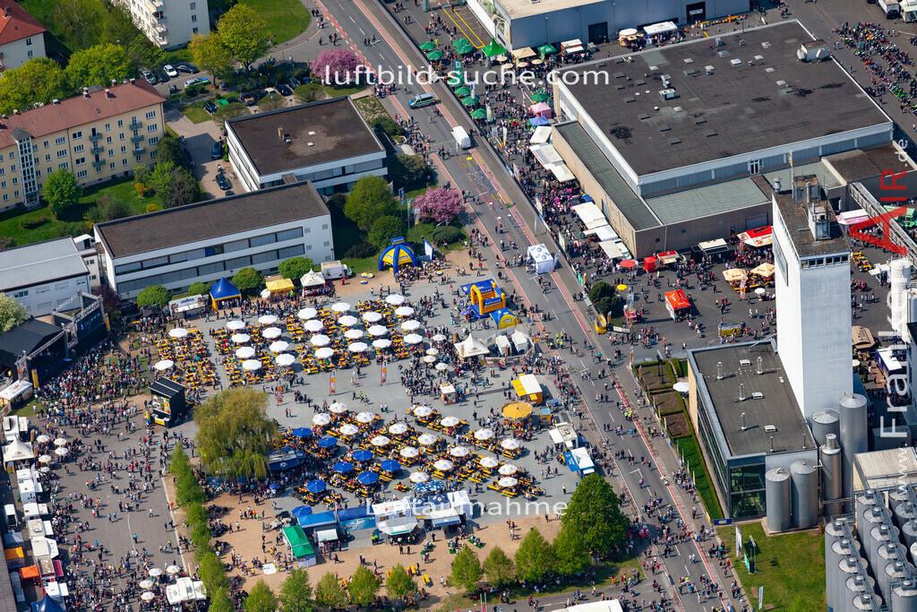 kulmbach-18-70   aktuelles Luftbild von  Kulmbach - Luftaufnahme wurde 2018 von https://frankenair.de mittels Flugzeug (keine Drohne) erstellt.