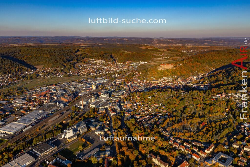 kulmbach-18-2787 | aktuelles Luftbild von  Kulmbach - Luftaufnahme wurde 2018 von https://frankenair.de mittels Flugzeug (keine Drohne) erstellt.