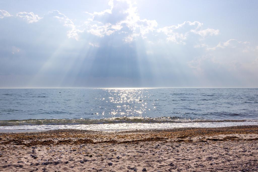 Strand in Damp | Sonnenschein am Strand in Damp