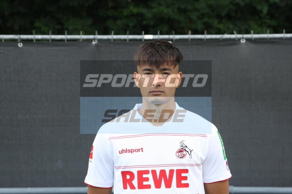 1. FC Köln Fotoshooting | Jens Castrop - © Sportfoto-Sale (MK)