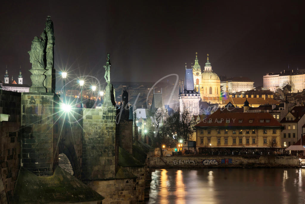 Karlsbrücke | Die Karlsbrücke in Prag
