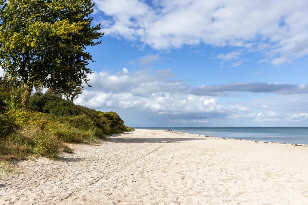 Strand an der Ostsee   Sandstrand im Sommer