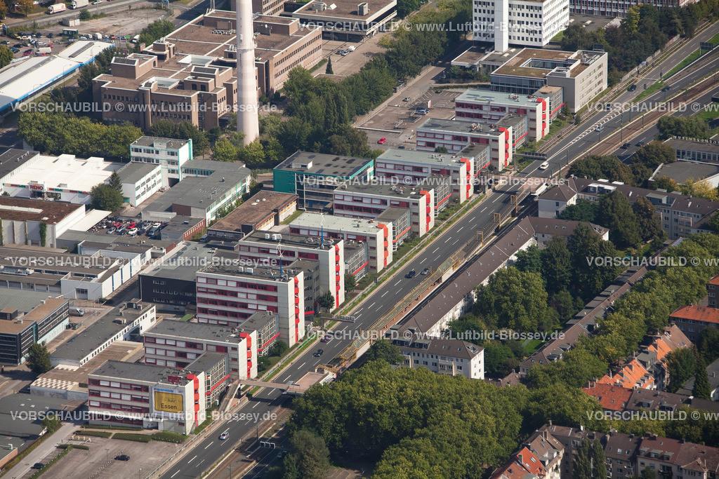 ES10095592 | Luftbild, ETEC Essen an der A40, Technologiezentrum Essen,  Essen, Ruhrgebiet, Nordrhein-Westfalen, Germany, Europa, Foto: hans@blossey.eu, 11.09.2010