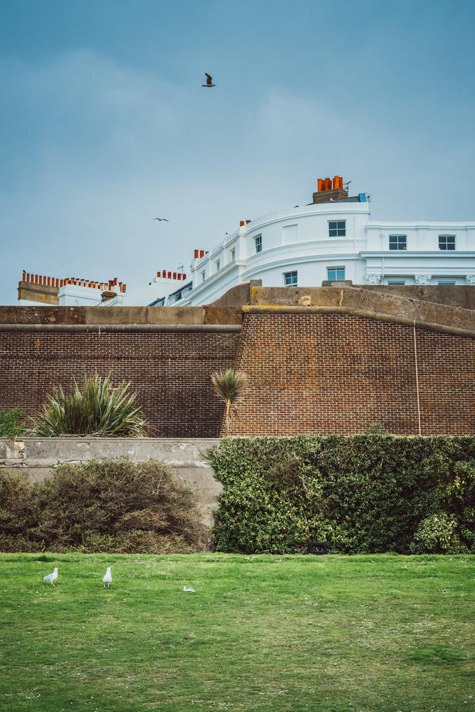 Brighton | britische Architektur, Strandpromenade, Brighton Beach, Brighton, England