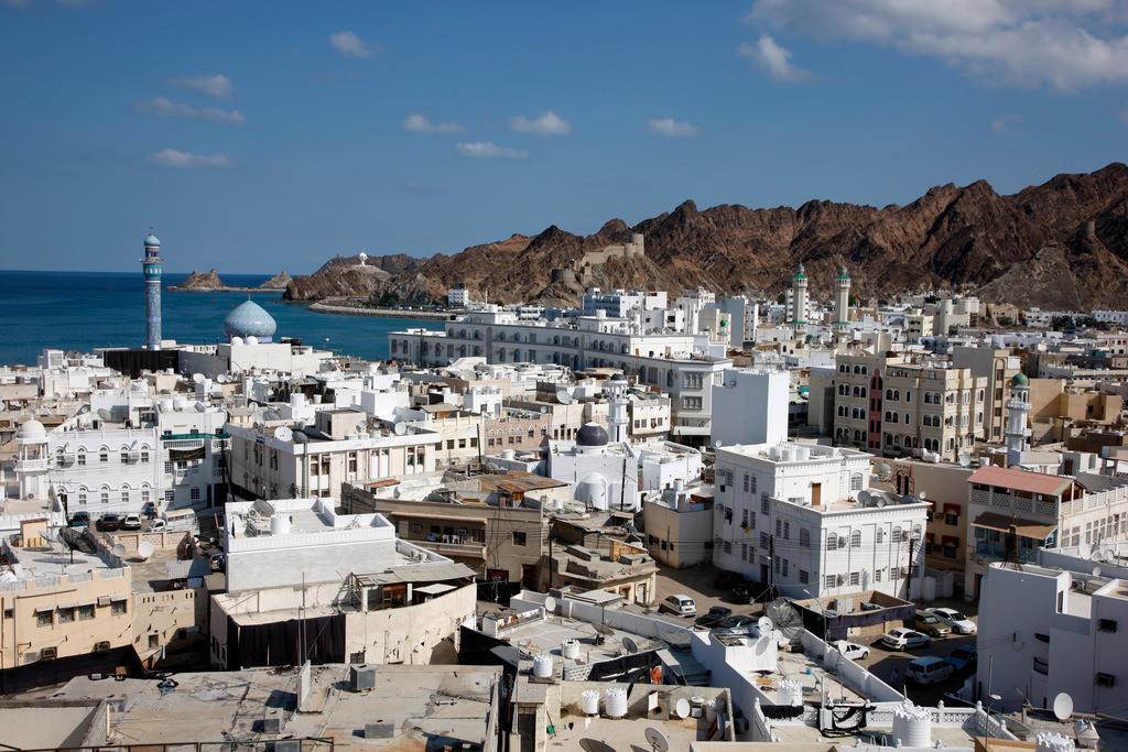 Altstadt   Oman, Altstadt von Muskat,