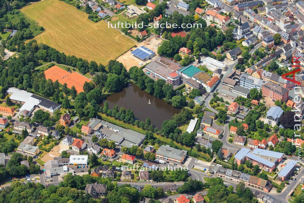 luftbild-wunsiedel-2016-7161   Luftbild von  Wunsiedel - Luftaufnahme wurde 2016 von https://frankenair.de mittels Flugzeug (keine Drohne) erstellt - die Geschenkidee