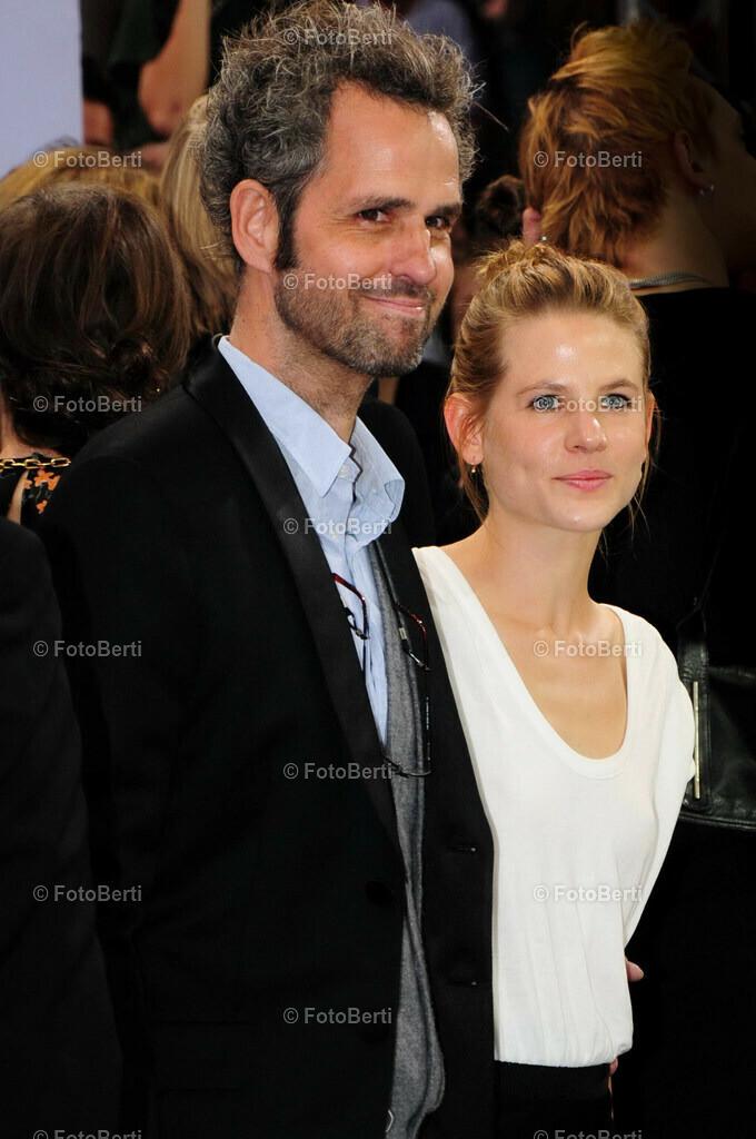 Inglourious Basterds - Der neue Quentin Tarantino   Director Christoph Schlingensief († 21. August 2010) und  Aino Laberenz 2009