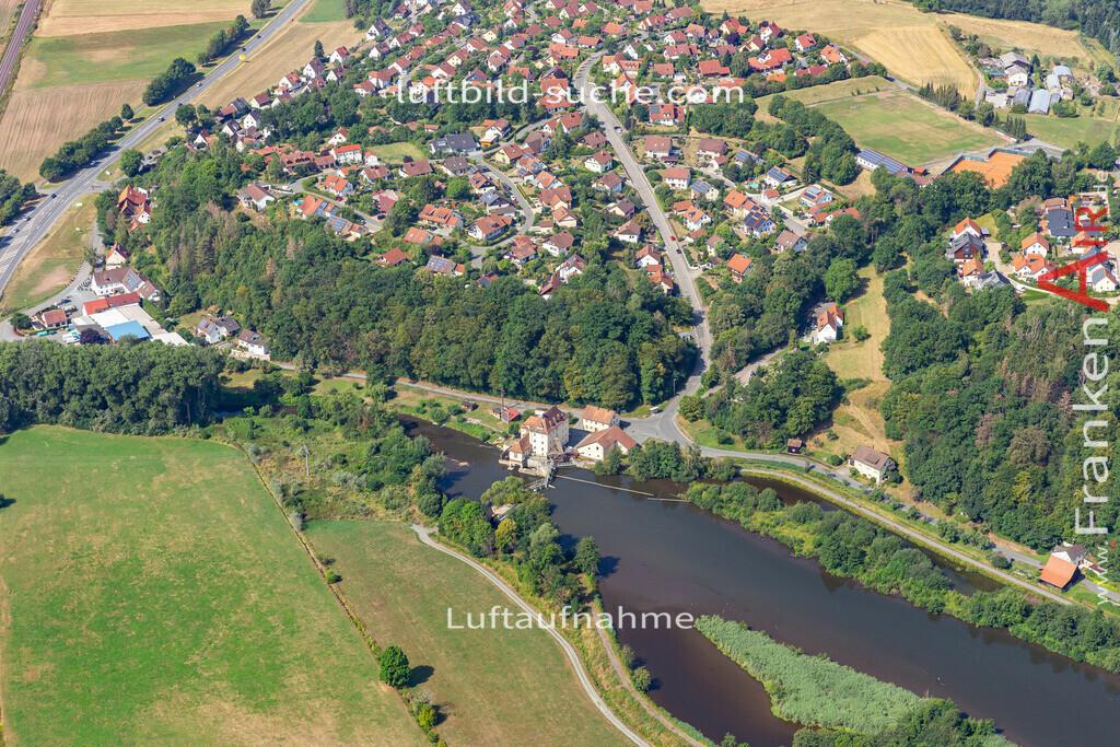 burghaig-19-534 | aktuelles Luftbild von Burghaig   - Luftaufnahme wurde 2019 von https://frankenair.de mittels Flugzeug (keine Drohne) erstellt.