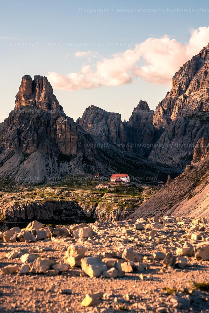 Drei Zinnen Hütte Dolomiten