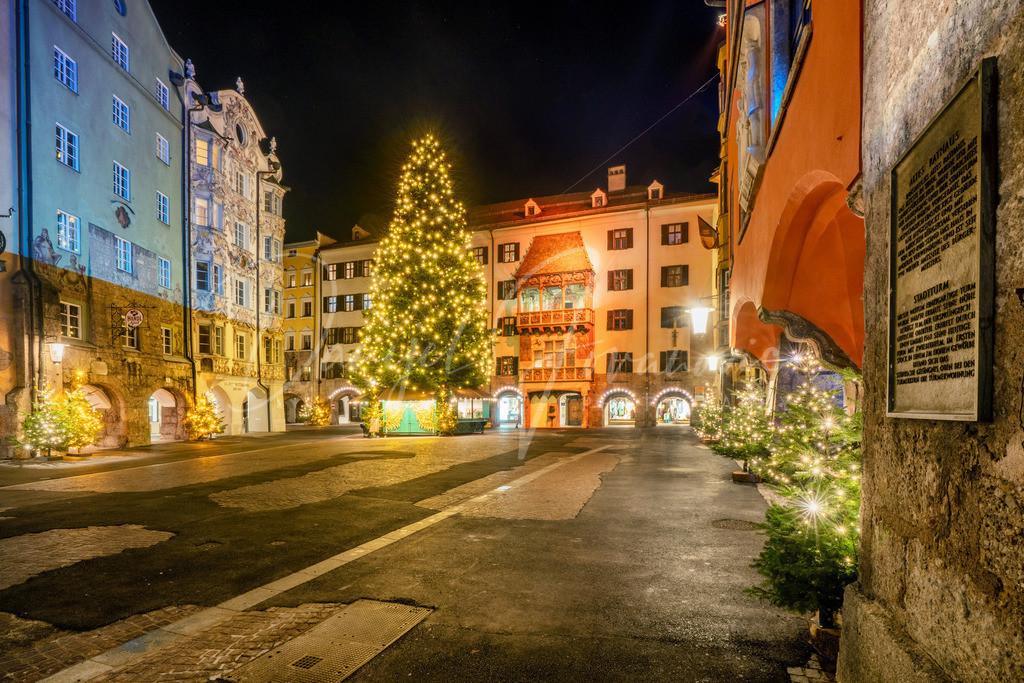 Goldenes Dachl | Weihnachtszeit in Innsbruck