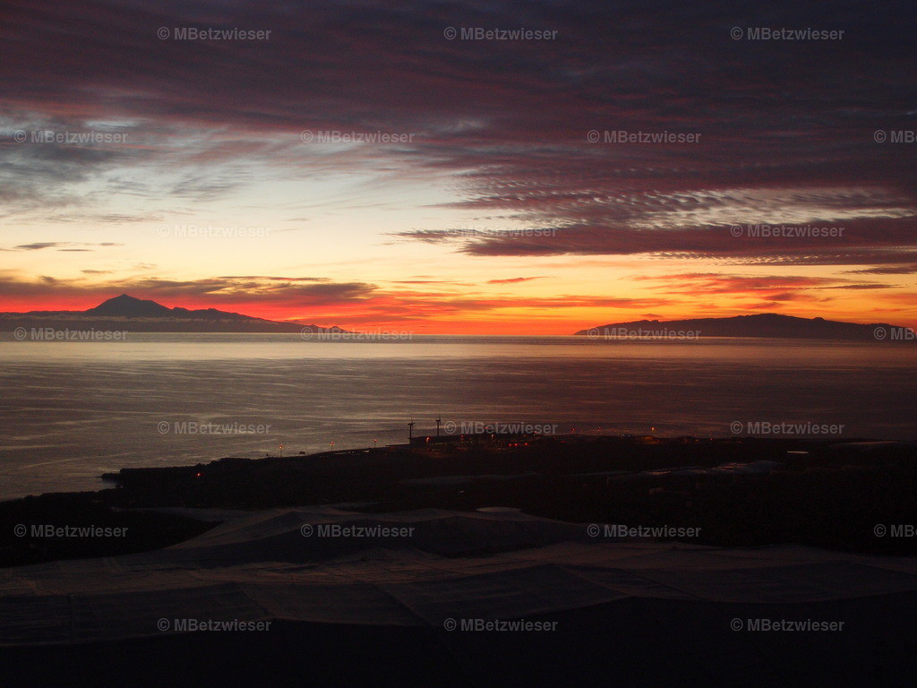 PC019647 | Sonnenaufgang Sicht auf Teneriffa und La Gomera