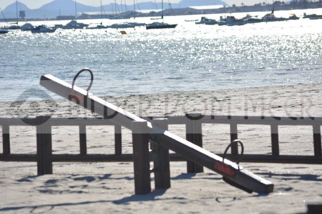 Strand Bilder vom Meer | Spielplatz am Mar Menor