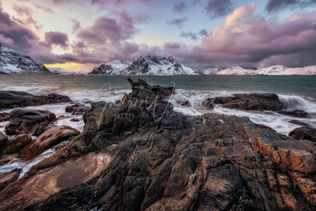 Felsformationen am Eismeer