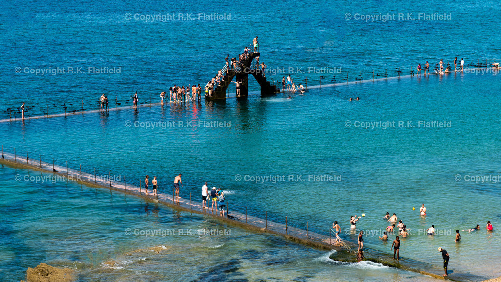 Schwimmbad im Meer | In St. Malo