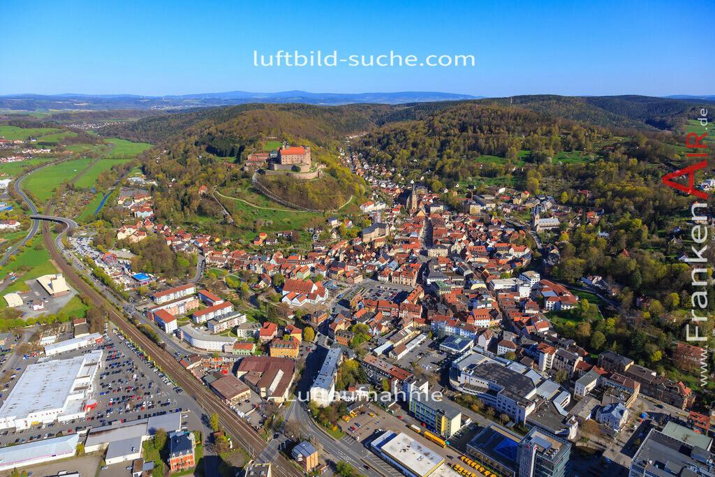 kulmbach-2016-3202 | Luftbild von  Kulmbach - Luftaufnahme wurde 2016 von https://frankenair.de mittels Flugzeug (keine Drohne) erstellt - die Geschenkidee